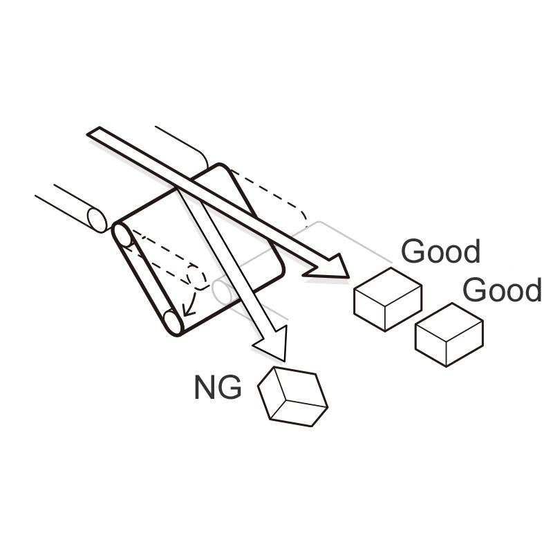 Rejector - Belt Dumper