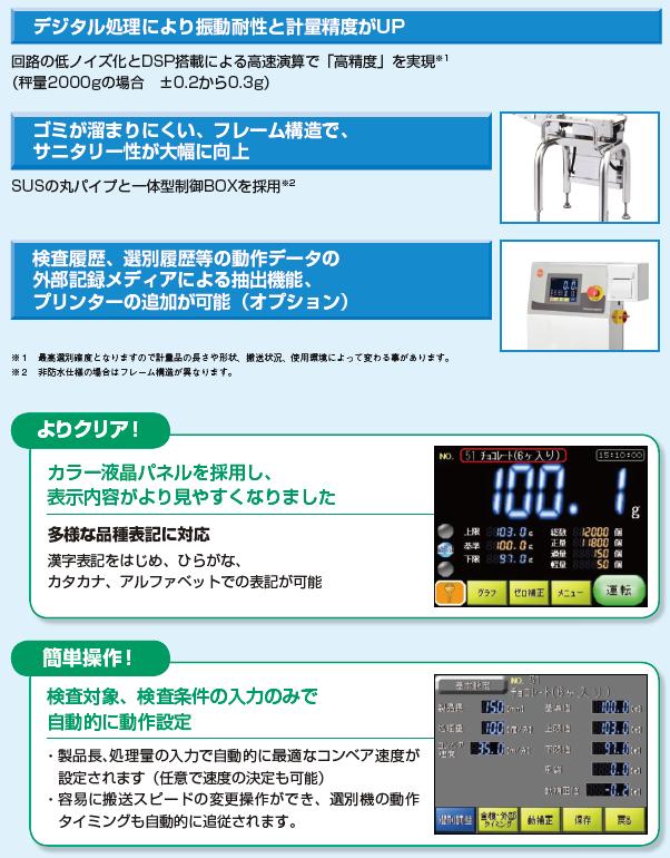 金属検出機一体型 ND2-D2040TAW +AF200