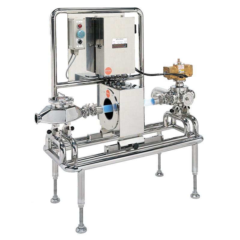シュート式・パイプ式金属検出機 MMVP-100R-BV