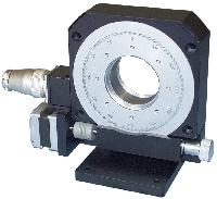 φ100自動回転ステージ PF100-V型(垂直型)