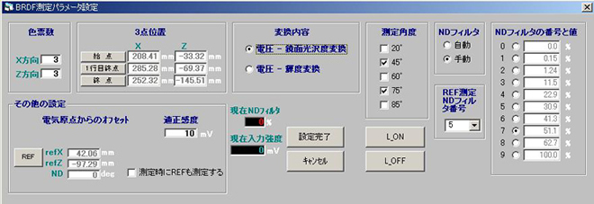 8軸変角ステージ(GP-8-2D)