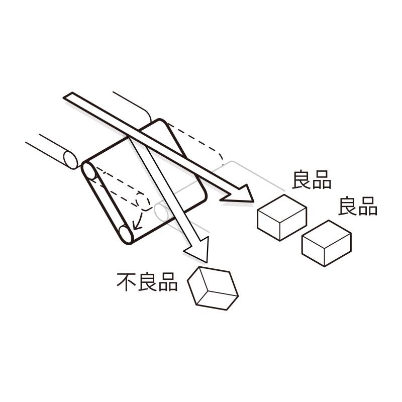選別機 ベルトダンパー方式